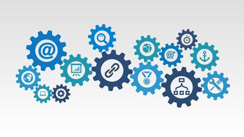 SEO and backlinks audit illustration