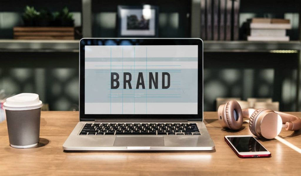 Brand Advertising on screen
