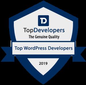 Top - WordPress - Development - Badge - 2019