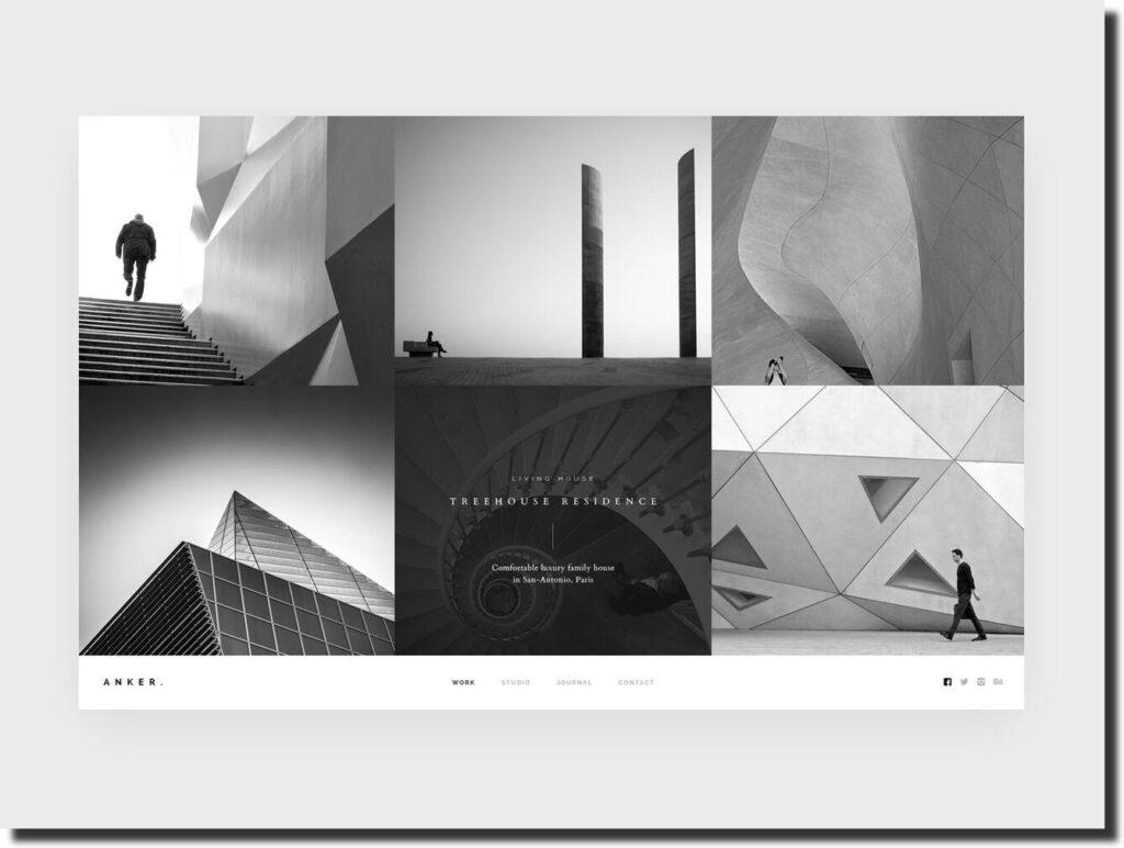 Best architecture website design