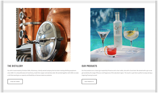 website screenshot minimalism + white space Web Design Trends