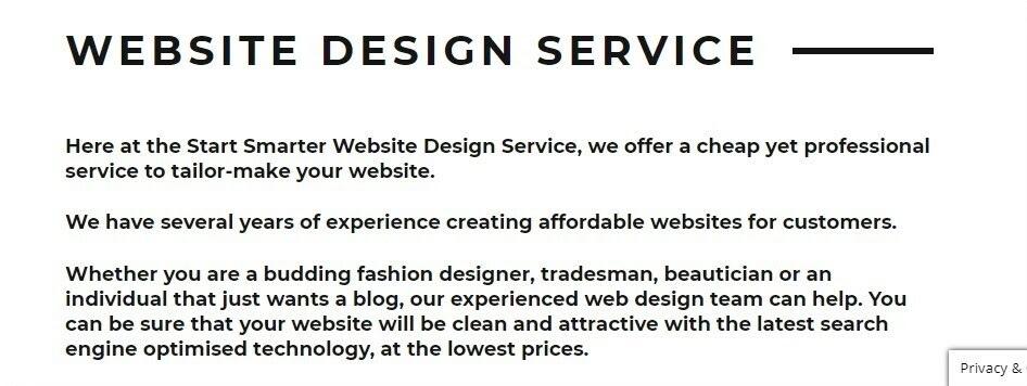 Smart Smarter website screenshot