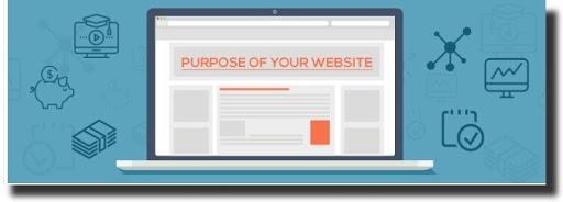 Purpose of your website