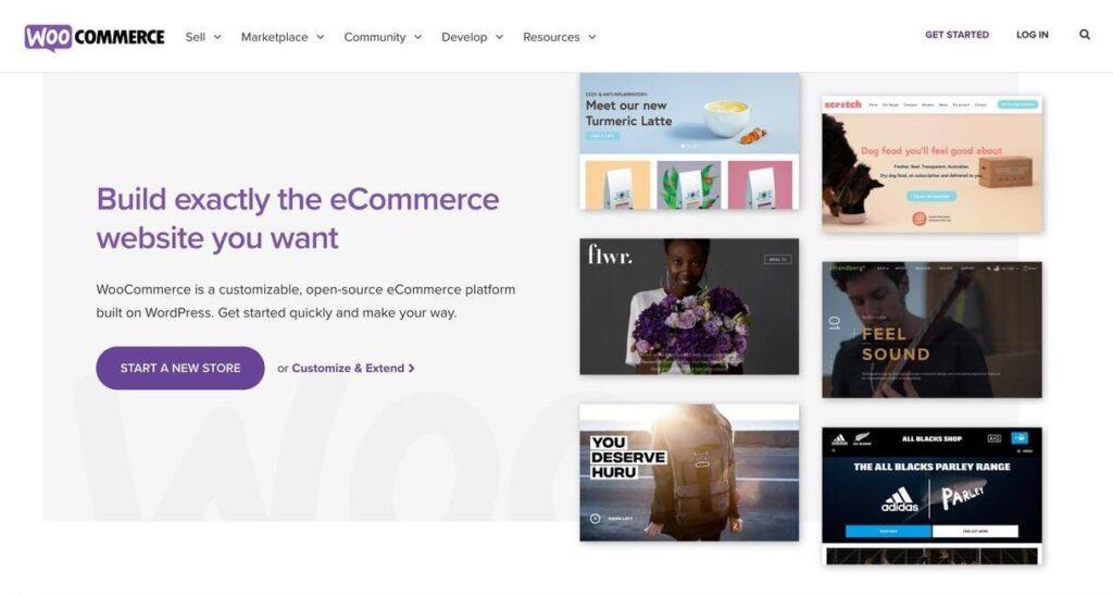 woocommerce website screenshot Best Ecommerce Platforms