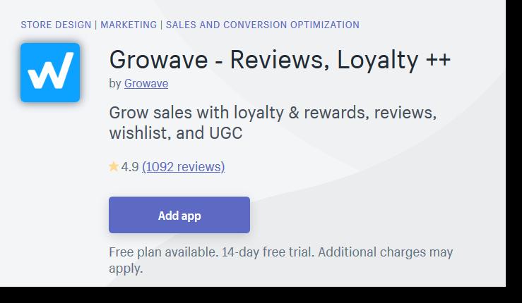 Growave Shopify Plugin