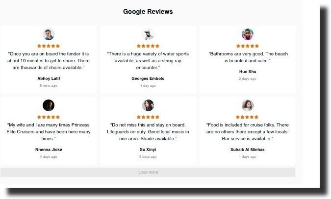 Squarespace Google Reviews Plugin