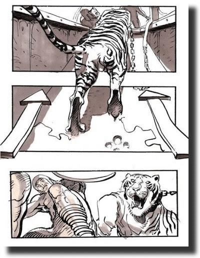 Gladiator storyboard examples