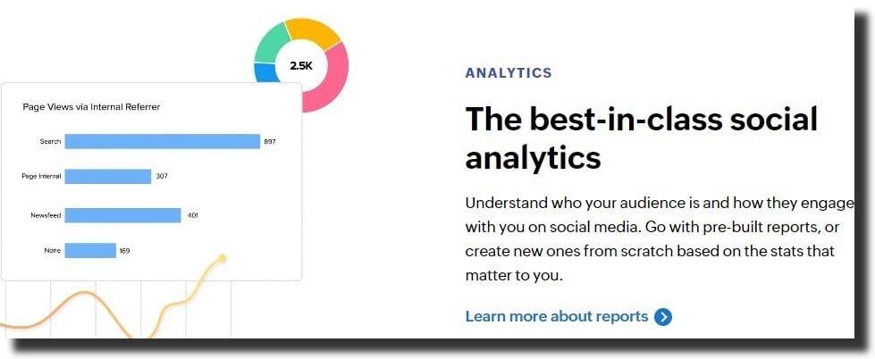 Zoho social management tool