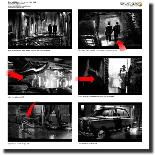 game storyboard examples