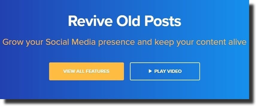 Revive Old Post