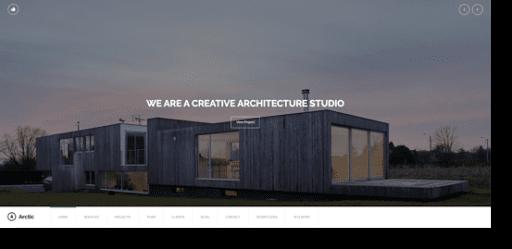 arctic architecture theme