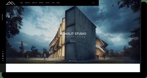 monolit architecture theme