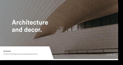 arcdeco architecture theme