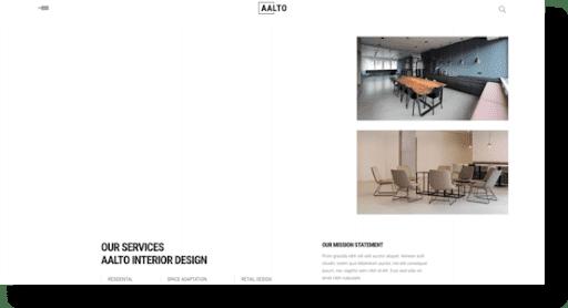 aalto architecture theme