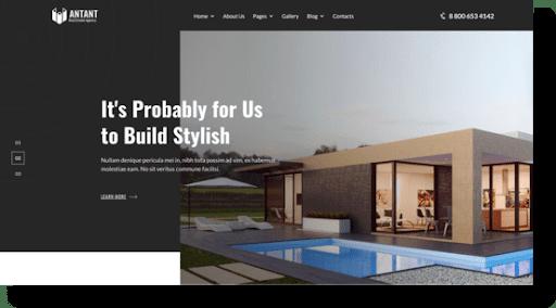 antant architecture theme
