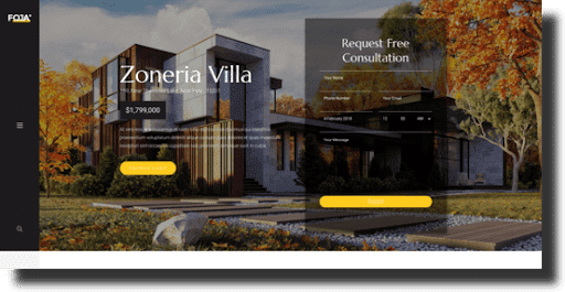 foja architecture theme