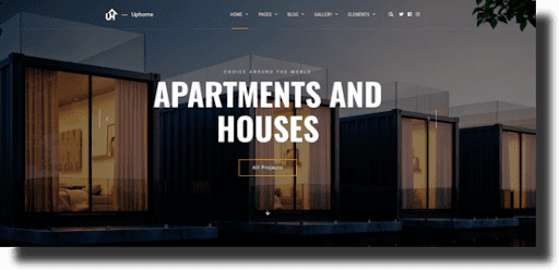 Uphome architecture theme