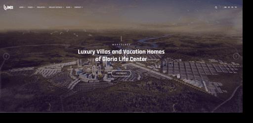 Luxe architecture theme