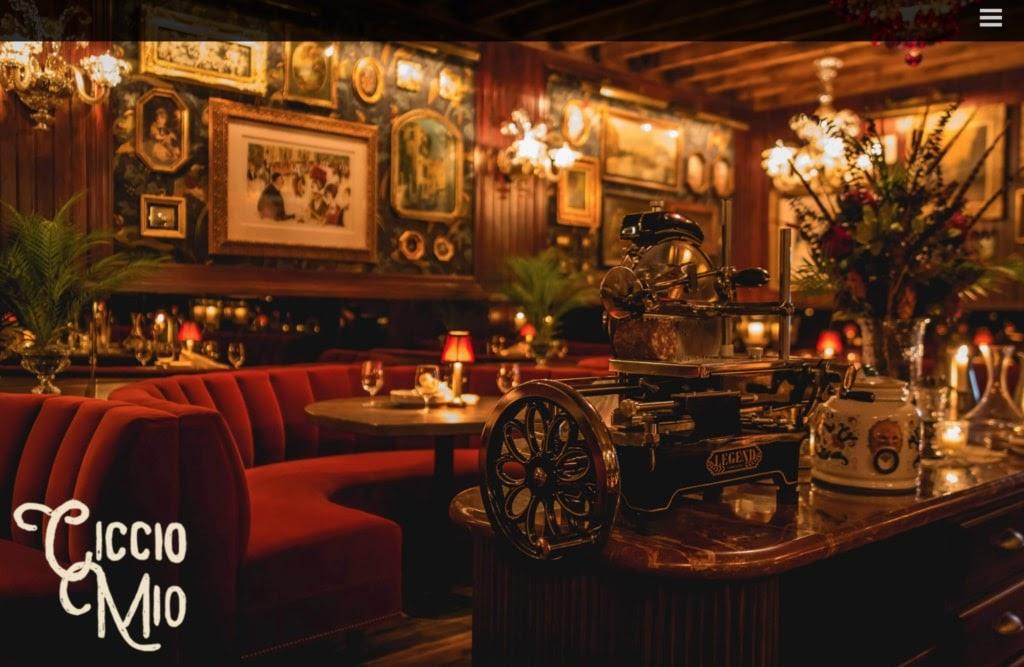 Ciccio Mio web restaurant