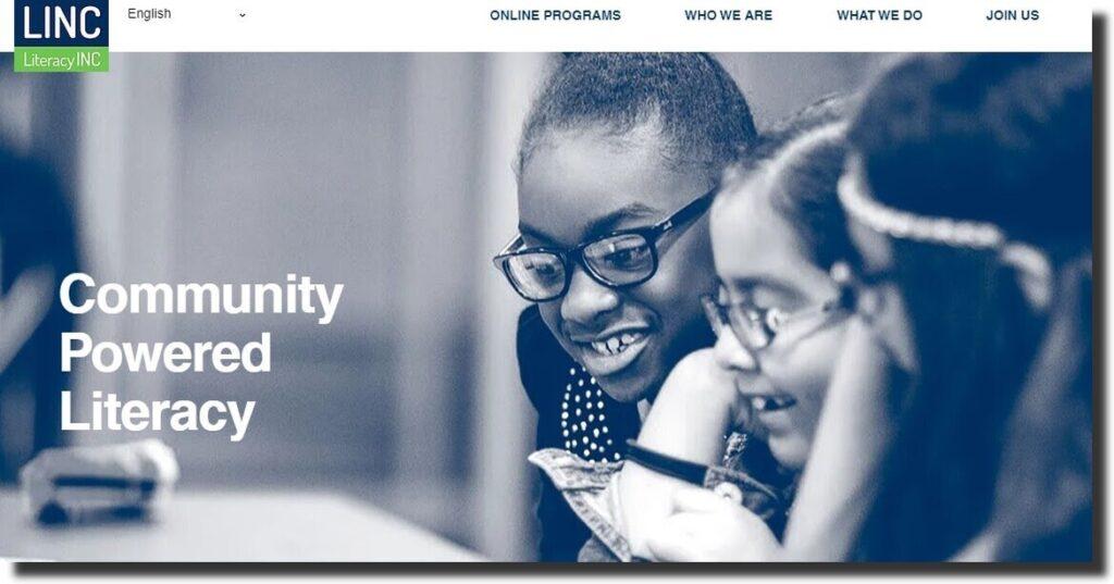 Literacy Inc Nonprofit Website