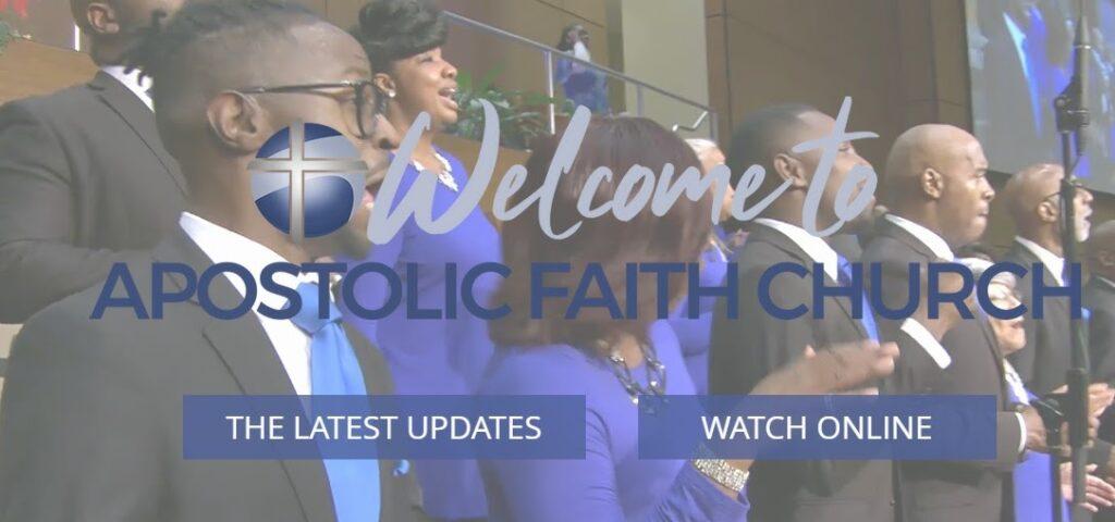 Apostolic Faith Church website