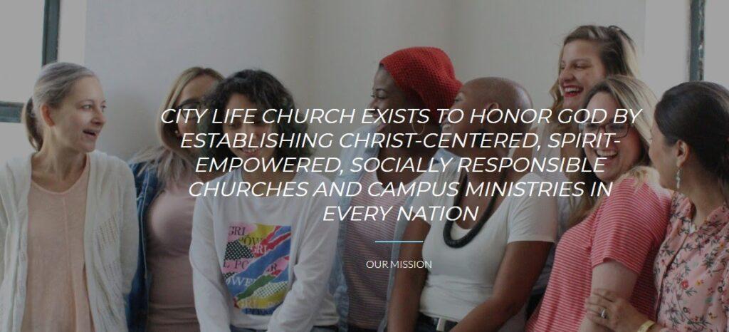 City Life Church website