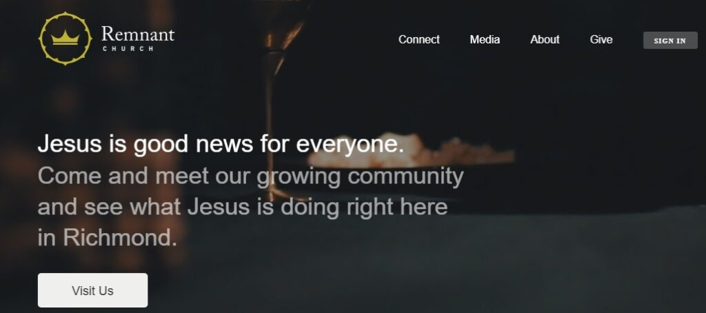 Remnant Church website