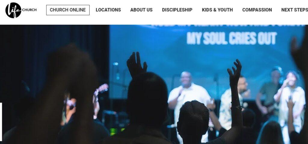 Life Church website
