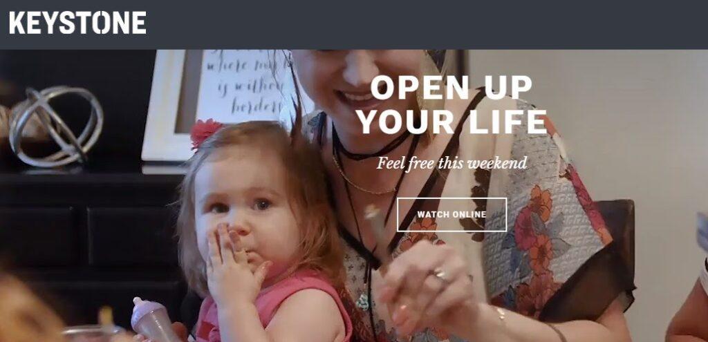 Keystone Church website