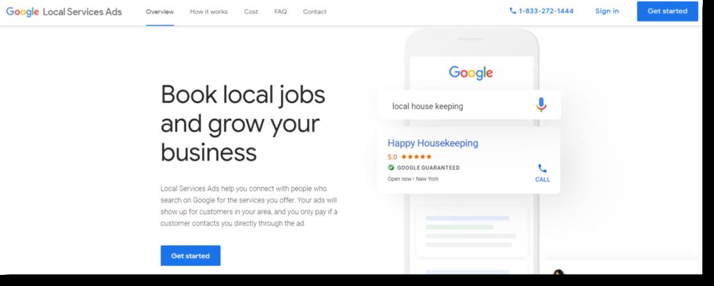 Google's Guaranteed Ads