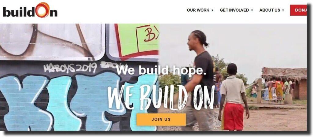BuildOn Nonprofit Website