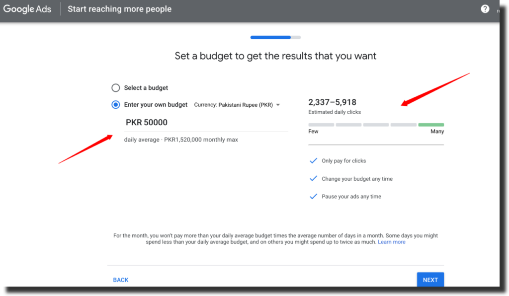 Calculating CPM for Adwords Campaigns