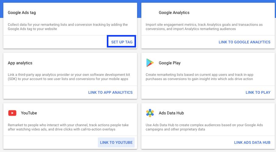 Google Ads Lists