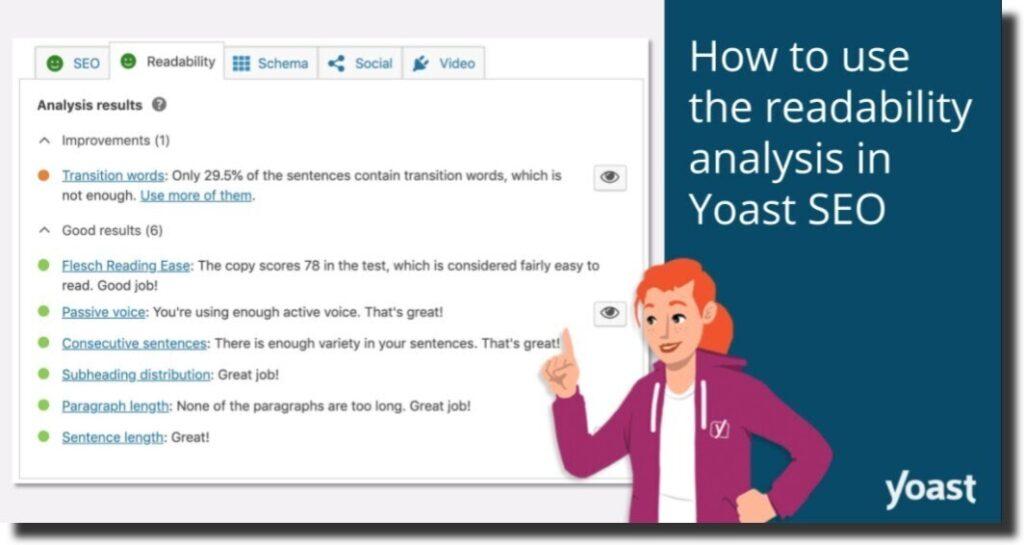 YOAST website analysis