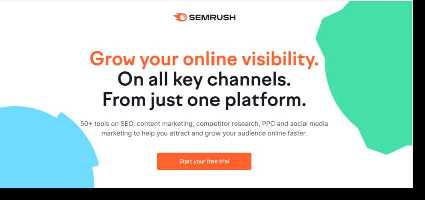 semrush for marketing analytics