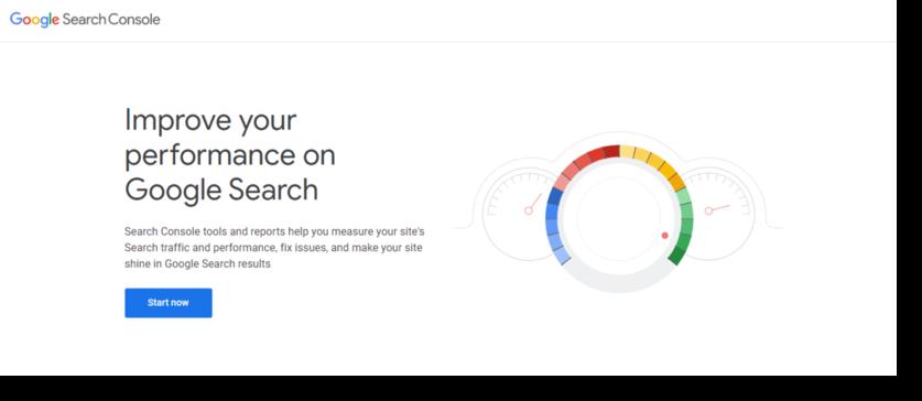 google search console