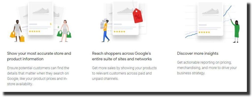 Google Merchant Center benefits
