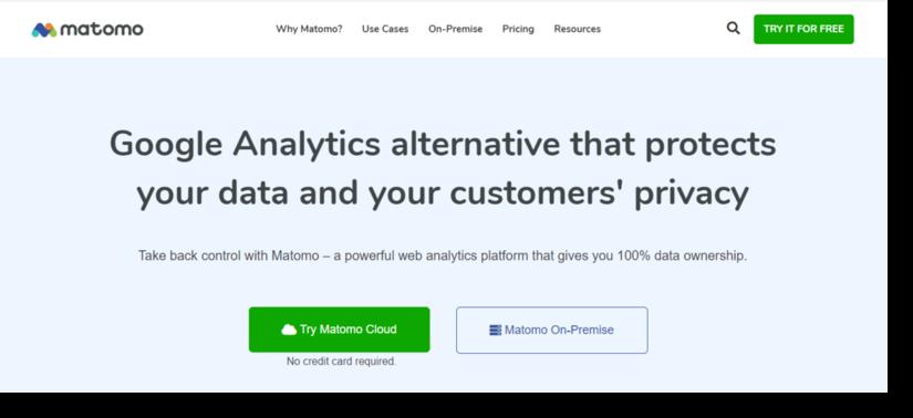 matomo tool for marketing analytics