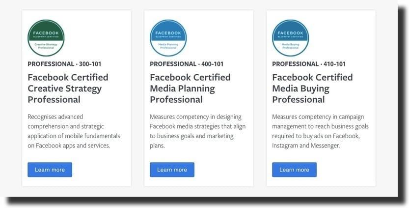 facebook courses