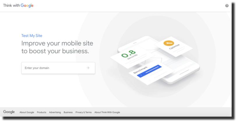 google website test