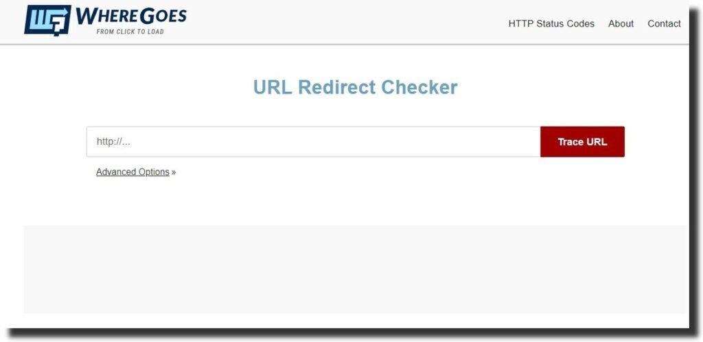 WhereGoes URL Redirect Checker