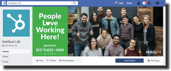 facebook hubspot life