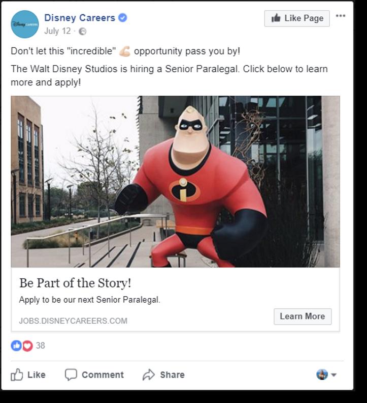 facebook recruiting job ads
