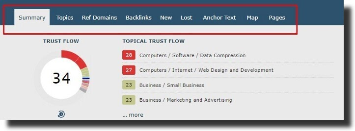 analyse your site's backlink profile